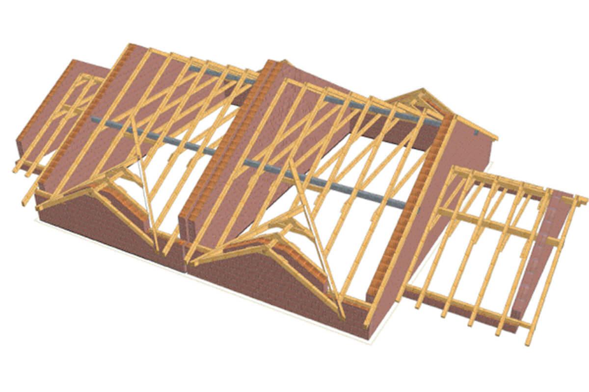 vaznik Vázaný krov