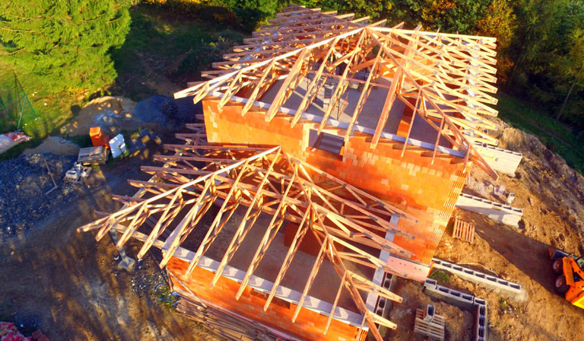 Vyšohlíd bois originale akce s dřevěné vazníky