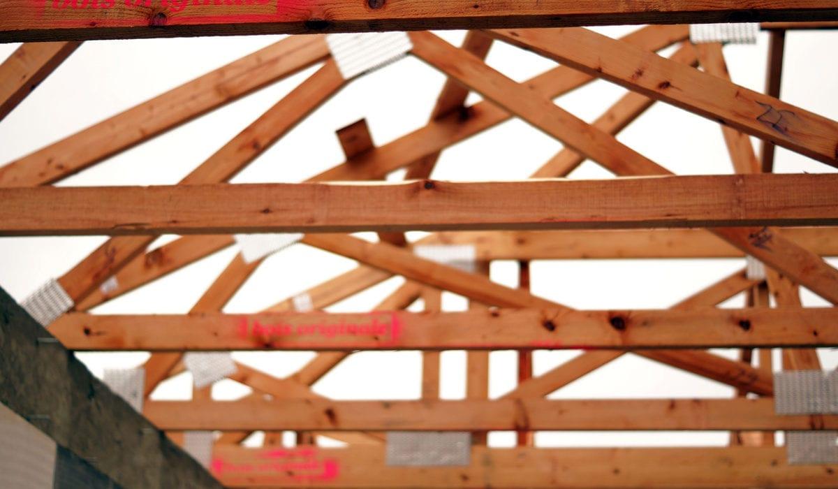 akce s dřevěné vazníky rodiný dům 2015