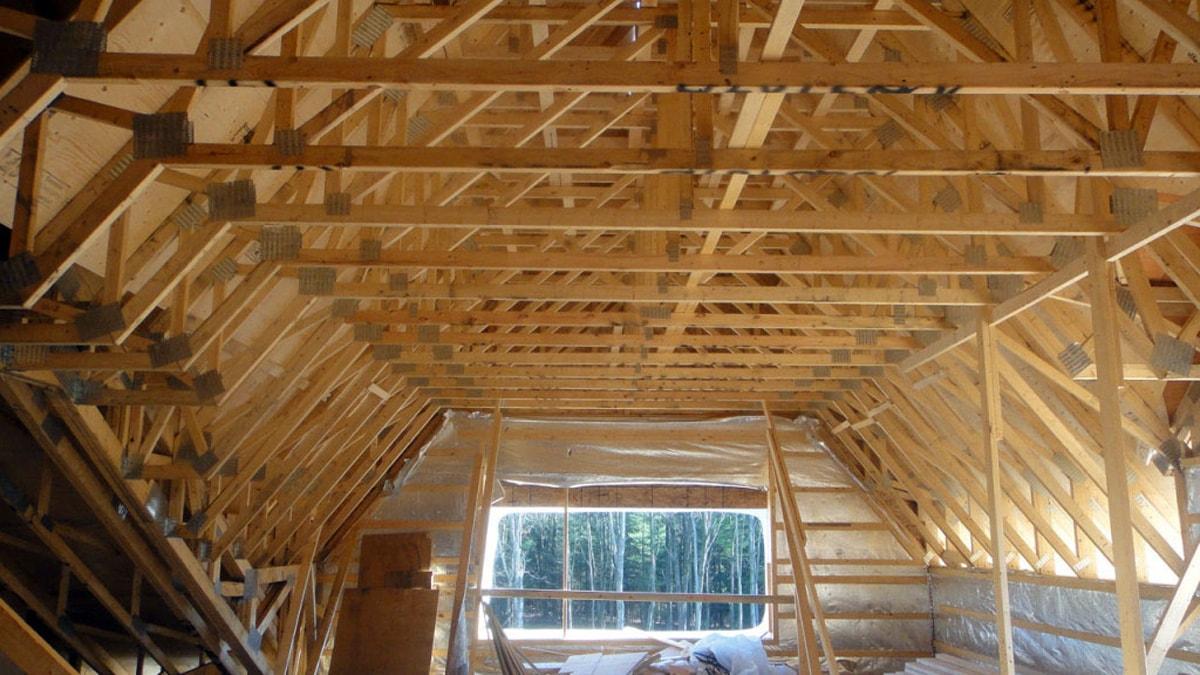 akce s dřevěné vazníky sřecha skladiště použit Bois origonale nejkvalitnější materiál na vazniky