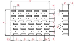 Styčníková deska, styčníkové desky, spojovací desky pro vazníky