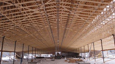 vazniky střecha velká stavba